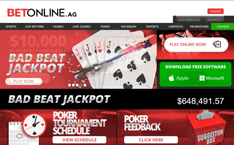 BetOnline Poker Review  Download BetOnline  | PokerBroz