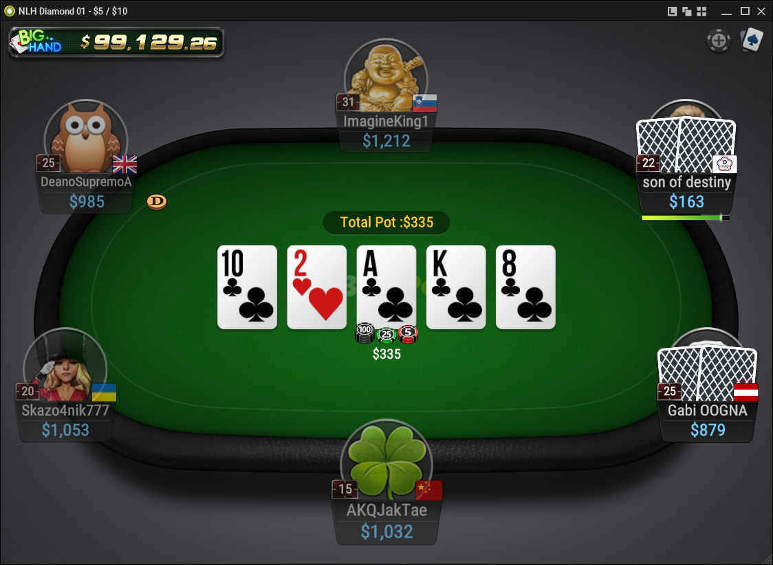 BestPoker (GG) Table Holdem