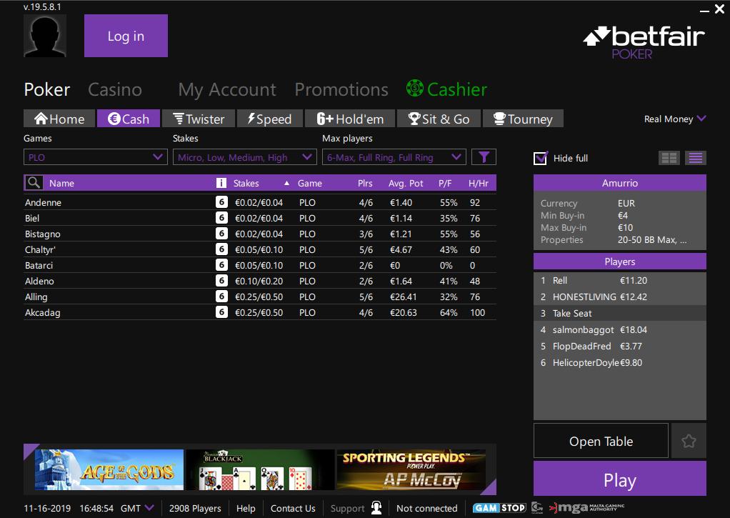 Betfair Poker Review
