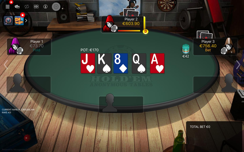 Betsafe Poker Table Holdem