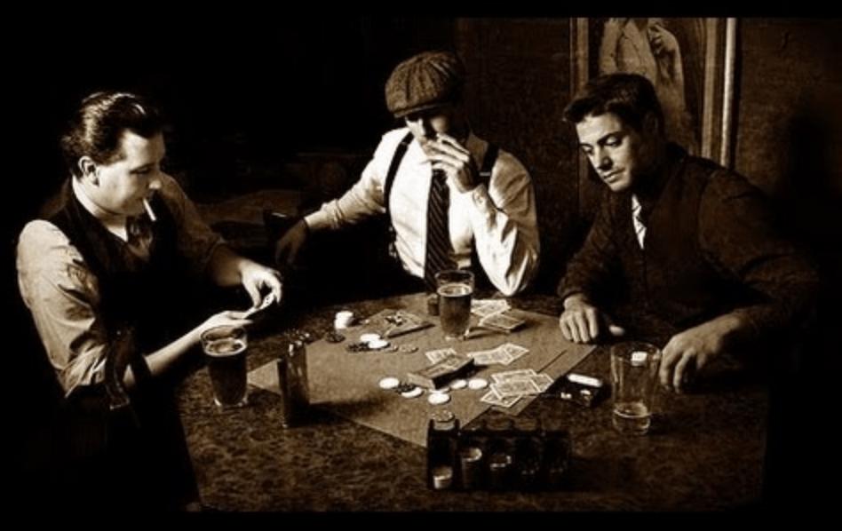 retro-photo-Poker-game